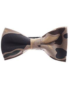 FLATSEVEN Mens Military Camo Pattern Pre-Tied Bow Tie (YB001) Beige FLATSEVEN http://www.amazon.com/dp/B00LAWUGVK/ref=cm_sw_r_pi_dp_qYmlub017QPSK