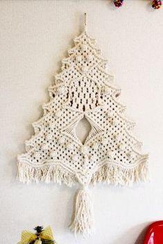 マクラメ クリスマスツリー - Yahoo!検索(画像)