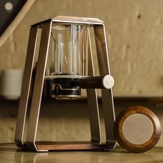 This one is coffee brewer, but how about chair?? How neat would that be!!