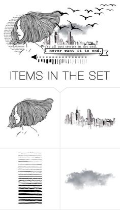 """""""not just another story"""" by minapap ❤ liked on Polyvore featuring art"""