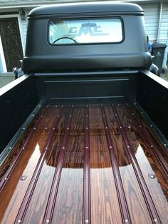 New truck bed date ideas chevy Ideas You are in the right place about Truck mods Here we offer you t Chevy Pickup Trucks, Chevy Pickups, New Trucks, Custom Trucks, Cool Trucks, Custom Cars, Truck Bed Date, F100, Wooden Truck