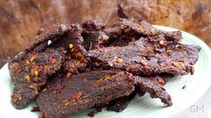 """THỊT BÒ KHÔ - sušené hovězí maso """"Jerky"""""""