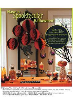 PartyLite Halloween Decorations. Shop online 24/7 at www.PartyLite.biz/NikkiHendrix