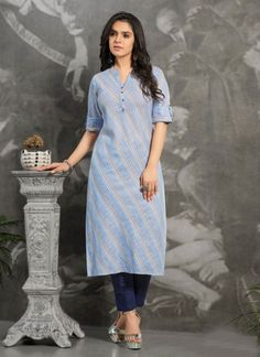 #Kurti #Cotton #Fancywork Latest Kurti Design LATEST KURTI DESIGN | IN.PINTEREST.COM FASHION #EDUCRATSWEB