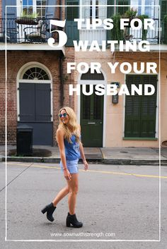 5 Tips for Waiting for Your Superman | www.sownwithstrength.com