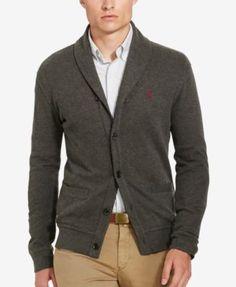 ralph lauren shawl neck sweater polo featherweight mesh polo shirt