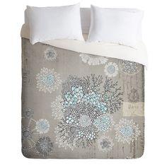 Iveta Abolina French Blue Duvet Cover | DENY Designs Home Accessories