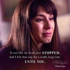 Until you...