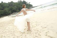 Beautiful dress for a beach wedding in Thailand by Nicole Hoyer Designs South African Fashion, African Fashion Designers, Beautiful Dresses, Thailand, Beach, Outdoor Decor, Wedding, Mariage, Cute Dresses