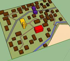 minecraft medieval building realistic village layout towns minecraftforum lay discussion