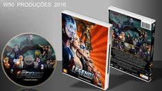 DC's Legends Of Tomorrow - Dvd 1 - ➨ Vitrine - Galeria De Capas - MundoNet | Capas & Labels Customizados