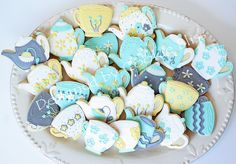 Bridal shower tea party by Cookie Bliss (Laurie Anglen), via Flickr