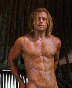 "Brad Pitt  in ""Troy""."