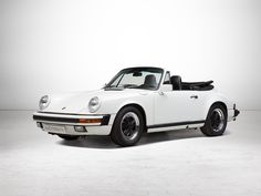 Porsche 911 3.2 l Convertible, G50 Gearbox, Model 1988