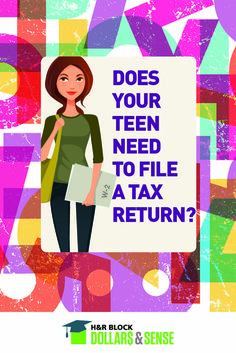 Tax season is right around the corner whether we want to accept it or not. Read this to determine if your money-making teen needs to file a return.