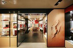 Ferrari Store Milan Massimo Iosa Ghini Designboom Nice Ideas