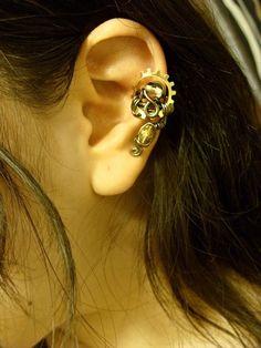 Steam punk earring cuff :)
