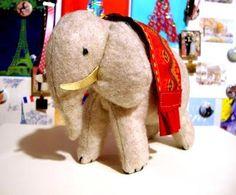 DIY Toys : DIY Carmi's Art/Life World: Cigarette Card Elephant