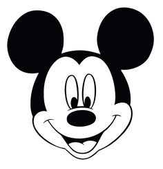 Mickey Mouse Head Silhouette 8 Mickey mouse clubhouse coloring ...