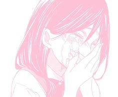 The best pink aesthetic sad anime girl - india's wallpaper Anime Girl Crying, Sad Anime Girl, Me Anime, Anime Kawaii, Manga Girl, Anime Art, Otaku Anime, Anime Girls, Manga Anime