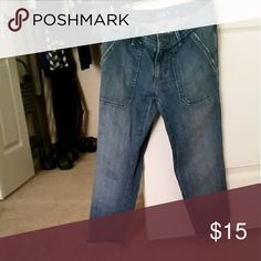 The Loft Relaxed Skinny Crops Great jeans. Worn one time. In excellent condition. LOFT Jeans Skinny