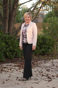 Savvy Southern Chic: Blush blazer outfit, womens office outfit, womens work outfit, office attire, wear to work