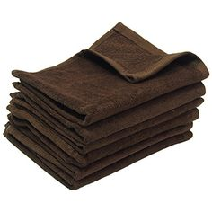 Excellent quality #terry velour 100% cotton fingertip towels with hemmed #ends. Perfect to use for sporting activities, home & kitchen use or baby products.