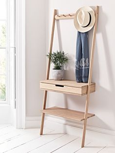 240GBP Aalto bamboo H 180 x W 70 x D 35cm Depth from wall to feet D32cm Depth from wall to drawer D35cm