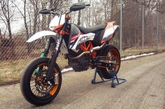 ktm smc powerparts wp custom 02 KTM 690 SMC x Enduro R x WP x Powerparts custom