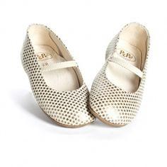Pepe Star Print Ballet Flats.  #littleskyefall2012