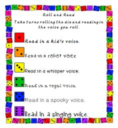 Roll and Read Freebie pinned @ I Love Teaching Blogs http://atoztea.ch/iluvtchblgs