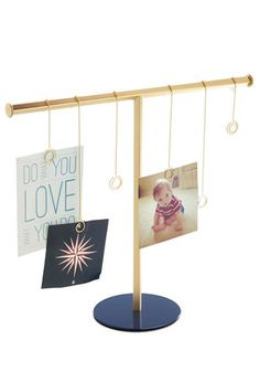 Flip Down Memory Lane Photo Display. Extraordinary snapshots deserve this sleek and simple display so you can focus on fun memories. #gold #prom #modcloth