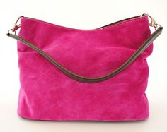Italian Suede Tote Handbag from Mimu hand picked for spirit-boutique.com