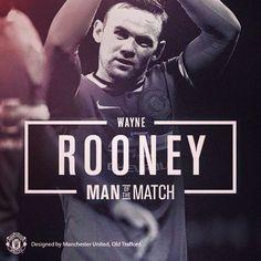 ee29bcc8cd2 Wayne Rooney - Man of the Match vs. Tottenham. Rooney Soccer