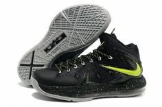 new styles 3370f c1beb Cheap Nike Lebron 10 P.S Elite Green Black Grey, cheap Nike Lebron 10 P.S  Elite, If you want to look Cheap Nike Lebron 10 P.S Elite Green Black Grey,  ...
