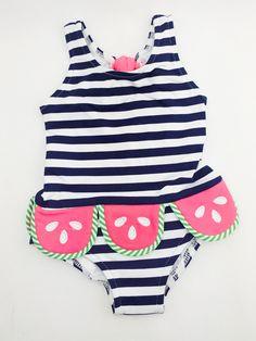Florence Eiseman Infant Watermelon Swimsuit