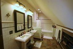 Farmhouse Attic Master Suite - farmhouse - bathroom - columbus - RTA Studio