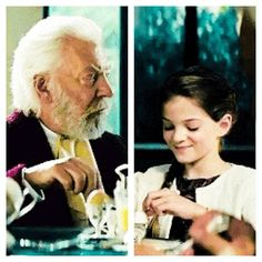 Hunger Games / Catching Fire / President Snow