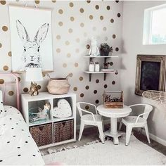 Gold Polka Dots Kids Room Baby Room Wall Stickers Children Home Decor Nursery Wall Decals Wall Stickers For Kids Room Wallpaper Wall Stickers Polka Dots, Baby Room Wall Stickers, Nursery Wall Decals, Window Stickers, Nursery Room, Diy Stickers, Window Decals, Child's Room, Nursery Themes