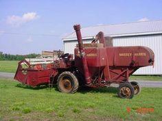 Antique Massey Harris Combine   Antique Tractors - Massey-Harris 90 Special Combine