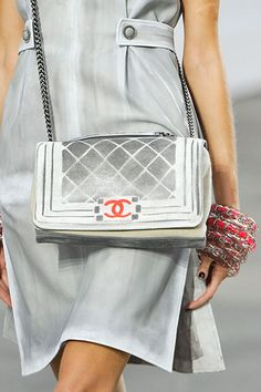 Accessory Look of the Day: Spring 2014. Chanel.