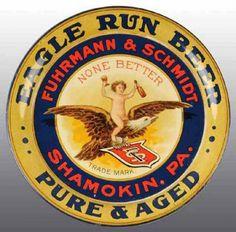 Fuhrmann & Schmidt Brewery serving tray
