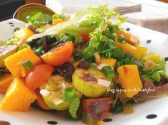 סלט ירקות מכל טוב הטבע - אוכל ודברים טובים - תפוז בלוגים