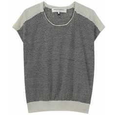KNIT / french sleeve linen sweater / united bamboo found on Polyvore
