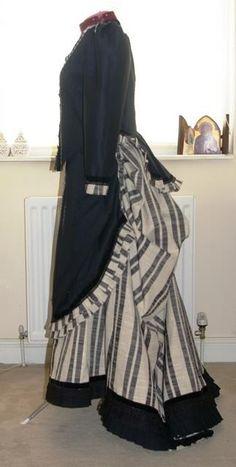 Victorian Trained Skirt Ensemble