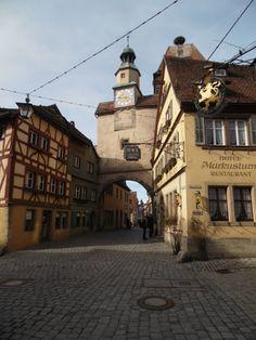 Ikat is Art: Visiting Rothenburg ob der Tauber... again!