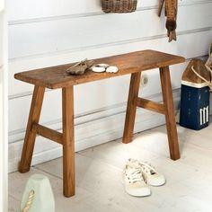 Hocker im Vintage-Look von HK Living - Bild 4 Diy Bench, Entryway Tables, Wood Tables, Vintage Looks, Furniture, Ebay, Home Decor, Room Ideas, Cottage Chic