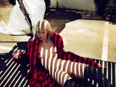 Publication: Vogue Paris September 2014 Model: Raquel Zimmermann Photographer: Mert Alas & Marcus Piggott Fashion Editor: Joe McKenna Hair: Shay Ashual Make-up: Lucia Pieroni Nails: Pauline Boom