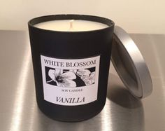 White Blossom Soy Candles by WHITEBLOSSOMCandles on Etsy