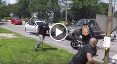 Road Rage : Truck Attempts to Wipe Out Bikers – Crazy Footage!